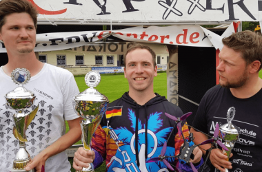 Aircrasher DroneChampionShip in Oberhaid, Germany