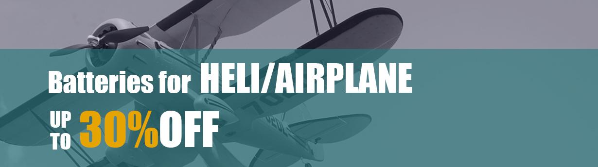 RC Heli & Airplane Battery