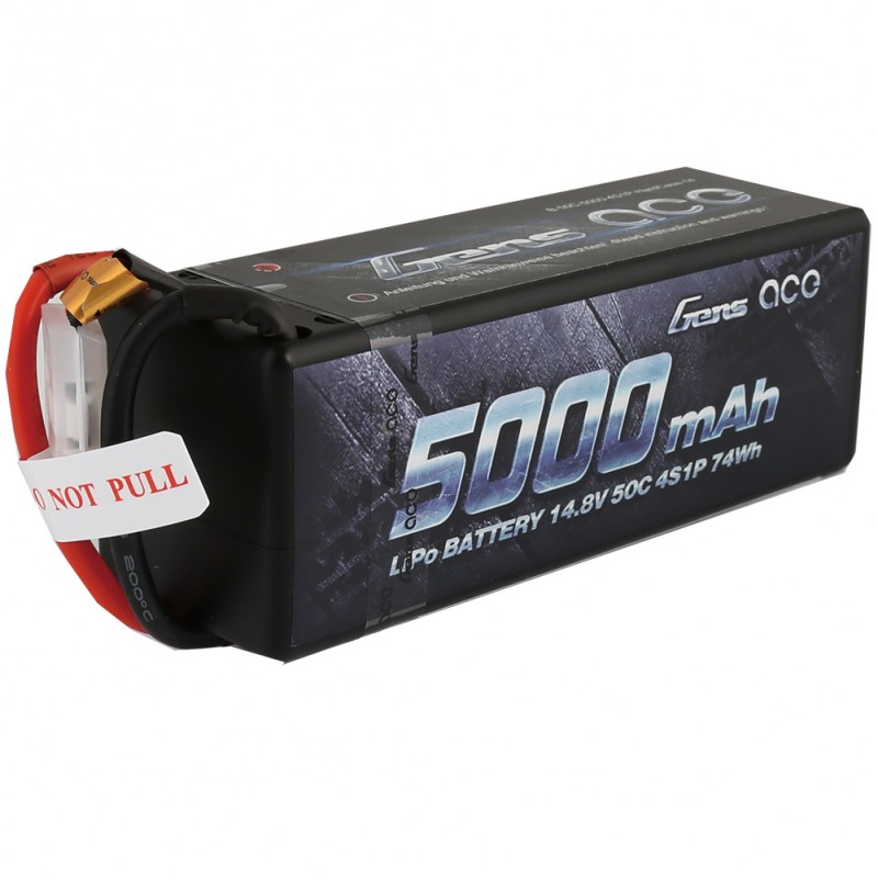 Gens Ace 5000mAh 4S 50C Lipo Battery