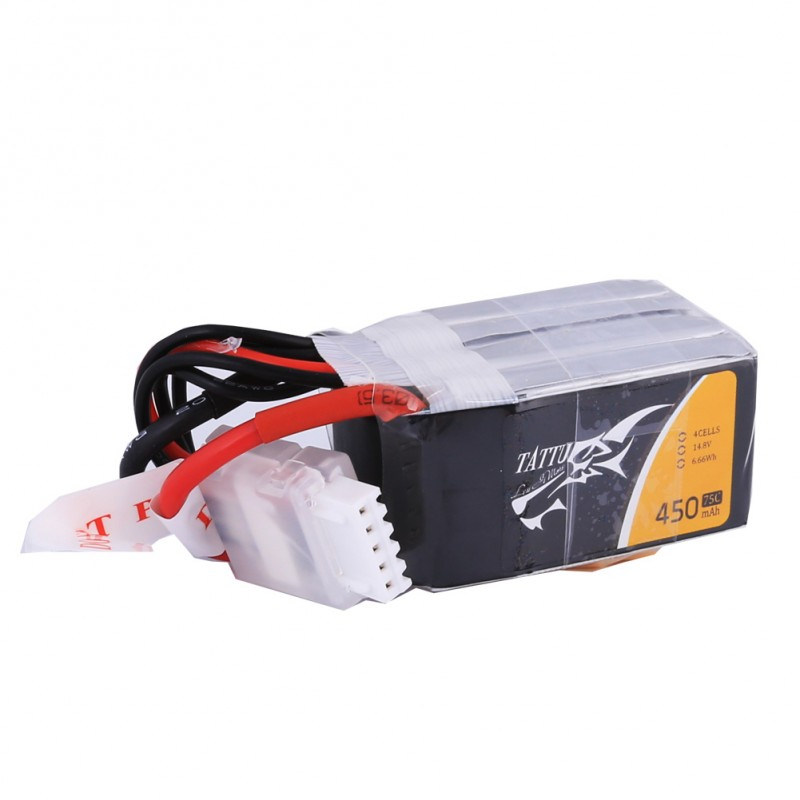 Tattu 450mAh 4S 75C Lipo battery