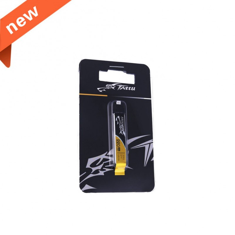 Tattu 220mAh 3.7V 45C 1S1P Lipo Battery Pack with EFLITE Plug (1 pcs/pack)
