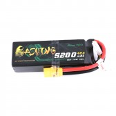 Gens ace 14.8V 5200mAh 4S1P 40C Lipo Battery Pack with XT90 Plug - Bashing Series