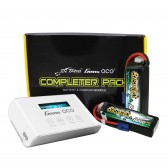 Gens ace Bashing 5000mAh 3S1P (2pcs) + Imars III Smart Balance RC Battery Charger Bundle
