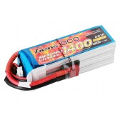 Gens Ace 1400mAh 22.2V 40C 6S1P Lipo Battery Pack