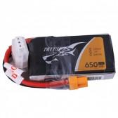 Tattu 650mAh 2S1P 75C 7.4V Lipo Battery Pack