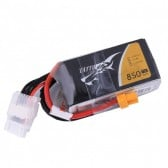 Tattu 850mAh 14.8V 75C 4S1P Lipo Battery Pack with XT60