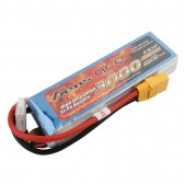 Gens ace 3000mAh 14.8V 35C 4S1P Lipo Battery Pack with XT90 plug