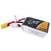 Tattu 1300mAh 22.2V 75C 6S1P Lipo Battery Pack