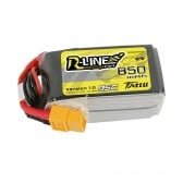 Tattu R-Line 850mAh 4S1P 95C 14.8V Lipo Battery Pack with XT60 Plug