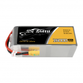 Tattu 16000mAh 22.2V 30C 6S1P Lipo Battery Pack with XT90 anti spark plug