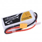 TATTU 11000mAh 14.8V 15C 4S2P Lipo Battery Pack