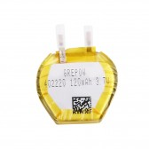 Grepow 120mAh 3.7V Irregular hexagon Shaped Lipo Battery 4022020
