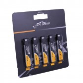 Tattu 220mAh 3.7V 45C 1S1P Lipo Battery Pack with EFLITE Plug(5 pcs/pack)