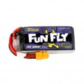 Tattu Funfly Series 1300mAh 11.1V 100C 3S1P Lipo Battery Pack with XT60 Plug