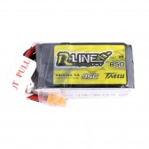 Tattu R-Line 850mAh 95C 14.8V 4S1P Lipo Battery Pack with XT60 Plug
