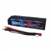 Gens ace 6000mAh 7.4V 70C 2S1P HardCase Lipo Battery Pack 47#