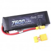 Gens ace 7600mAh 7.4V 50C 2S2P Lipo Battery with XT60/XT90 Plug