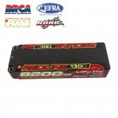 Gens ace Redline Series 8200mAh 7.6V 130C 2S1P HardCase 58# HV Lipo Battery