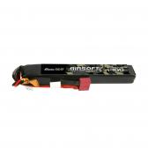 Gens ace 25C 1400mAh 2S1P 7.4V Airsoft Gun Lipo Battery with T Plug