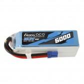 Gens ace 6S 6000mAh 22.2V 45C Lipo Battery with EC5 Plug