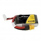 Tattu 450mAh 2S 75C 7.4V Lipo Battery Pack with XT30 Plug