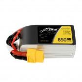 Tattu 850mAh 11.1V 75C 3S1P Lipo Battery Pack With XT60 plug