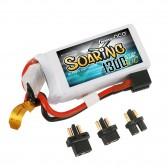 Gens ace Soaring 1300mAh 11.1V 30C 3S1P Lipo Battery Pack with EC3/XT60/T-plug