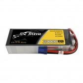 TATTU 10000mAh 14.8V 30C 4S1P Lipo Battery Pack with EC5
