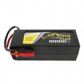 Tattu Plus 10000mAh 22.2V 25C 6S1P Lipo Battery Pack with AS150+XT150 plug