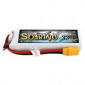 Gens ace Soaring 3300mAh 14.8V 30C 4S1P Lipo Battery Pack with XT90 plug