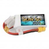 Gens ace Soaring 1000mAh 11.1V 30C 3S1P Lipo Battery Pack with XT60 Plug