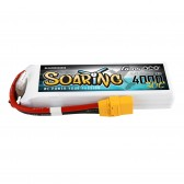 Gens ace Soaring 4000mAh 11.1V 30C 3S1P Lipo Battery Pack with XT90 plug