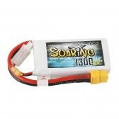 Gens ace Soaring 1300mAh 7.4V 30C 2S1P Lipo Battery Pack with XT60 plug