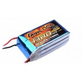 Gens ace 1300mAh 11.1V 25C 3S1P Lipo Battery Pack