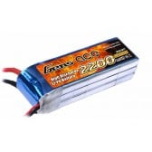 Gens ace 2200mAh 11.1V 25C 3S1P Lipo Battery Pack with T Plug