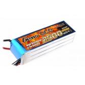 Gens ace 2500mAh 22.2V 25C 6S1P Lipo Battery Pack