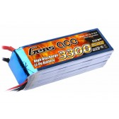 Gens ace 3300mAh 18.5V 25C 5S1P Lipo Battery Pack