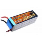 Gens ace 3300mAh 22.2V 25C 6S1P Lipo Battery Pack