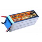 Gens ace 4000mAh 22.2V 25C 6S1P Lipo Battery Pack