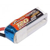 Gens ace 120mAh 7.4V 30C 2S1P Lipo Battery Pack