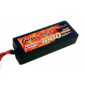 Gens ace 1800mAh 7.4V 30C 2S1P HardCase Lipo Battery 27#