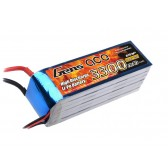 Gens ace 3300mAh 22.2V 35C 6S1P Lipo Battery Pack