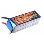 Gens ace 4400mAh 14.8V 35C 4S1P Lipo Battery Pack