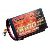Gens ace 6600mAh 14.8V 35C 4S2P Flat Pack