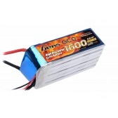 Gens Ace 1600mAh 22.2V 40C 6S1P Lipo Battery Pack