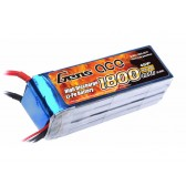 Gens ace 1800mAh 14.8V 40C 4S1P Lipo Battery Pack