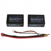 Gens ace 5200mAh 7.4V 40C 2S3P Saddle Lipo Battery 26#(EFRA approved)