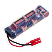 Gens ace 5000mAh 9.6V NiMH Double Stick Hump