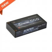 USED-Gens ace 3200mAh 7.4V 60C 2S1P Hardcase Lipo Battery 58#