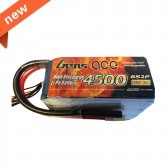 USED-Gens ace 4500mAh 22.2V 60C 6S2P Softcase  Car Lipo Battery